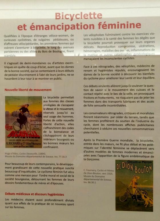 Julia Willard, Falling Off Bicycles, Parc  de Sceaux,  À bicyclette. Collection Robert Grandseigne - Emmanuel Déhan